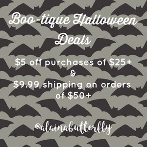 BOO-tique👻 $5 off $25+ & $9.99 shipping $50+